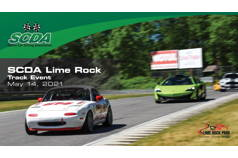 SCDA- Lime Rock Park- Track Day Event- May 14th