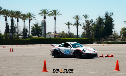 October 5-6 Cal Club Santa Anita Autocross