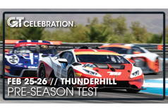 GT Celebration Pre-Season Test at Thunderhill