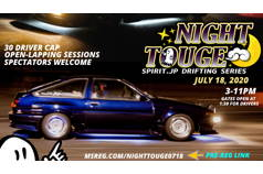 NIGHT TOUGE #2 - July 18th, 2020: 3-11PM