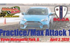 Practice/Max Attack 1 - Milwaukee Region SCCA