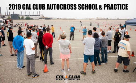 2019 Cal Club Autocross School and Sunday Practice