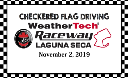 Checkered Flag Driving Laguna Seca Nov 2019