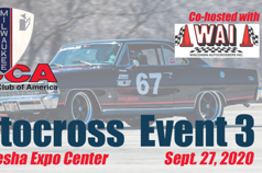Solo Championship Event #3 - Milwaukee Region SCCA