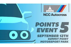 2020 NCC Autocross Points Event #5