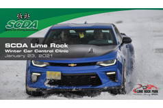 SCDA- WINTER Car Control Clinic-Lime Rock- 1/23/21