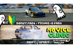 NOVICE DRIFT CLINIC - 12/13/2020