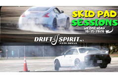 SKID PAD SESSIONS 2020 #3 - 10/21/20