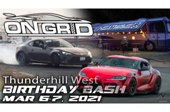 Thunderhill West birthday bash weekend