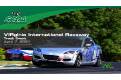 SCDA VIRginia Int'l Raceway Track Day- April 7th