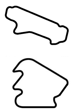 Pocono S/E & Double Infield map