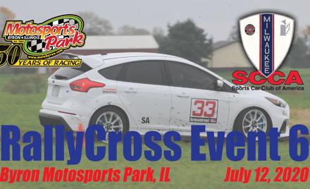 RallyCross Event #6 - Milwaukee Region SCCA