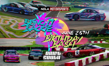 DriftSouth Bring It Backie Birthday Bash