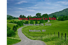 Spring Scamper 2020 Tour Road Rally