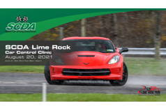 SCDA- Car Control Clinic-Lime Rock- 8/20/21