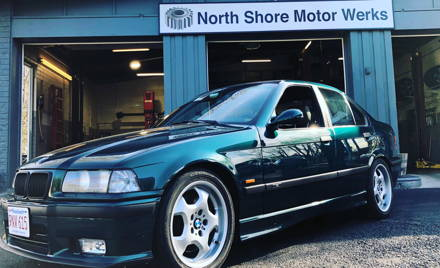 Boston: Undercarriage Tech North Shore Motor Werks