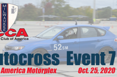 Solo Championship Event #7 - Milwaukee Region SCCA
