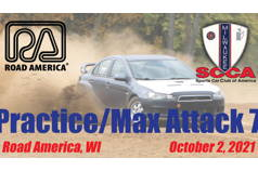 Practice/Max Attack 7 - Milwaukee Region SCCA