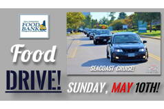 NEDE Rally To Seacoast Cars and Coffee Food Drive