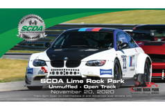 SCDA- Lime Rock Park- OPEN Track! Nov. 20th
