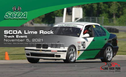 SCDA- Lime Rock Park- Ian Prout Memorial 11/5/21