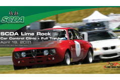 SCDA- Lime Rock Park- Track Day Event- April 19th