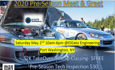 S2K TakeOver Pre-Season Classing Meet & Greet