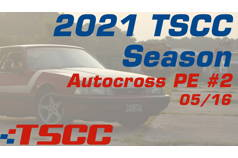 TSCC Autocross 2021 Points Event #2