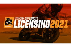 UtahSBA SuperMoto UML 2021 Race License