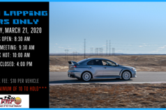 Saturday Open Lapping - Cars Only