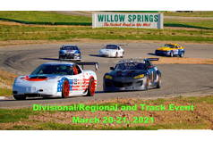 Divisional/Regional Track Event At Willow Springs