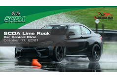 SCDA- Car Control Clinic-Lime Rock- 10/11/21