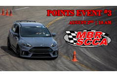 MBR SCCA 2020 Points Event 3 *Rained Out*