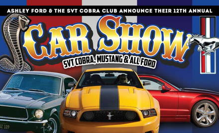 SVT Cobra Club Ashley Ford Show