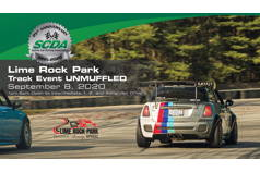 SCDA- Lime Rock Park- UNMUFFLED Track Event- 9/8