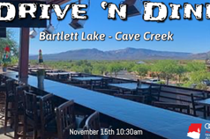 Drive 'n Dine - Bartlett Lake/ Cave Creek Nov 2020
