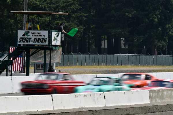 Racing at Pacific Raceways Starters - Photos by Patrick Krohn