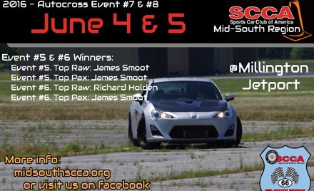 Mid-South Regional Solo Event Weekend 4