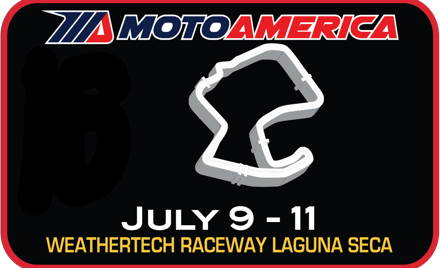 MotoAmerica Superbikes at Laguna Seca