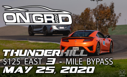 OnGrid - Thunderhill East - Monday 05/25/2020