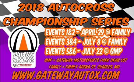 Gateway AutoCross 2018 Championship Events 1&2